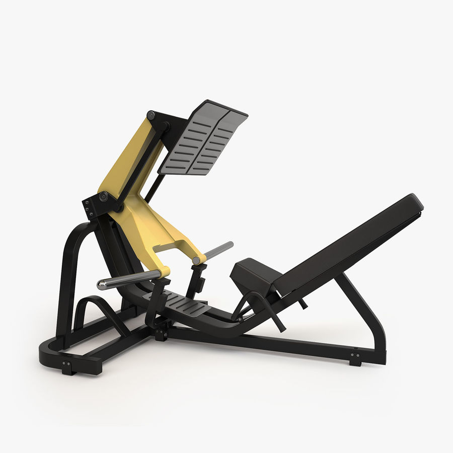 Gym Equipment royalty-free 3d model - Preview no. 22