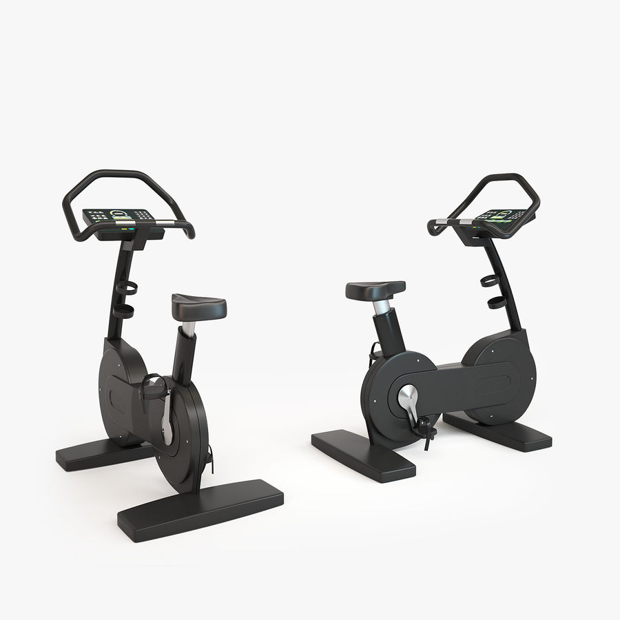 Gym Equipment royalty-free 3d model - Preview no. 10