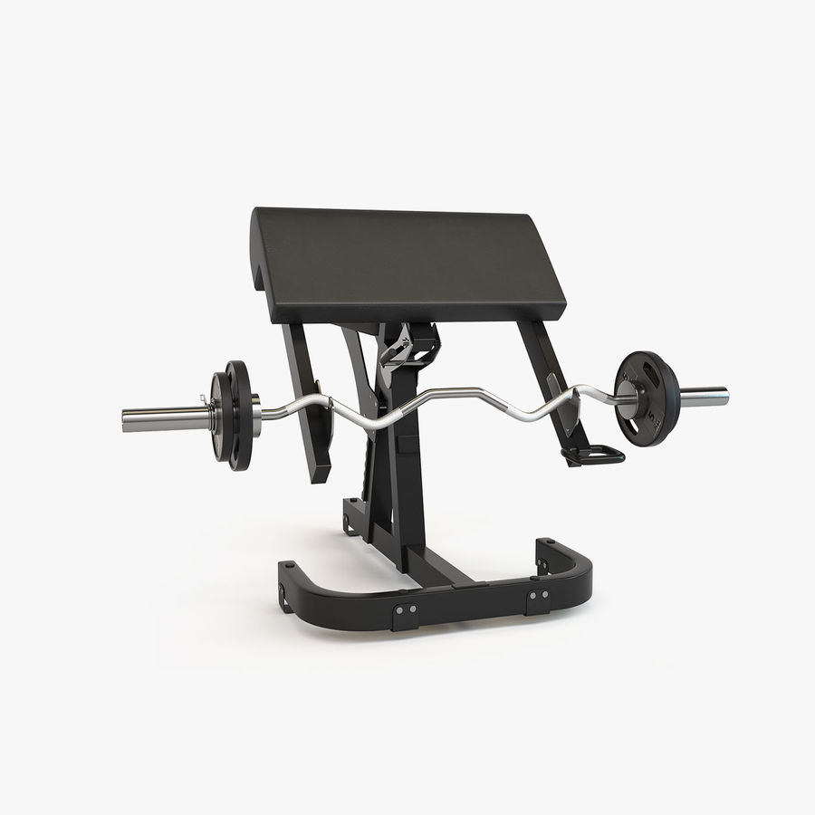Gym Equipment royalty-free 3d model - Preview no. 14