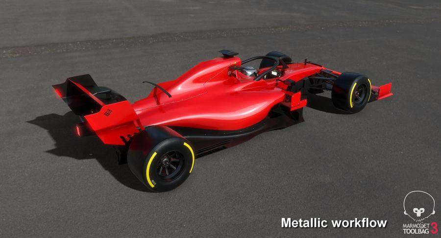 Formula 1 Season 2019  F1 Race Car royalty-free 3d model - Preview no. 26