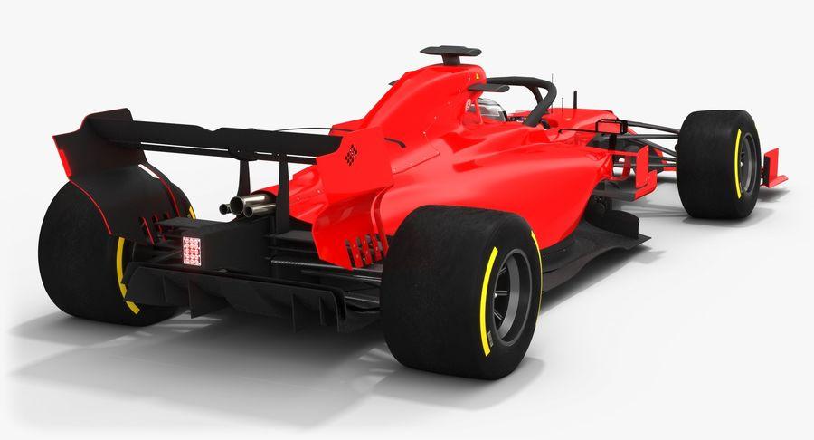 Formula 1 Season 2019  F1 Race Car royalty-free 3d model - Preview no. 4