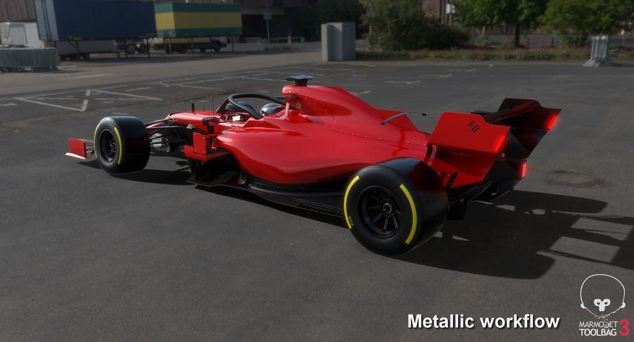 Formula 1 Season 2019  F1 Race Car royalty-free 3d model - Preview no. 24