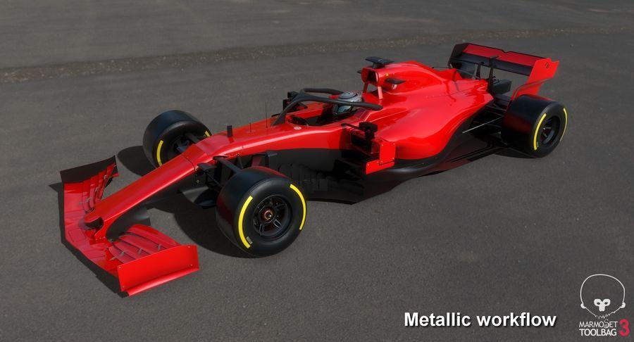 Formula 1 Season 2019  F1 Race Car royalty-free 3d model - Preview no. 25