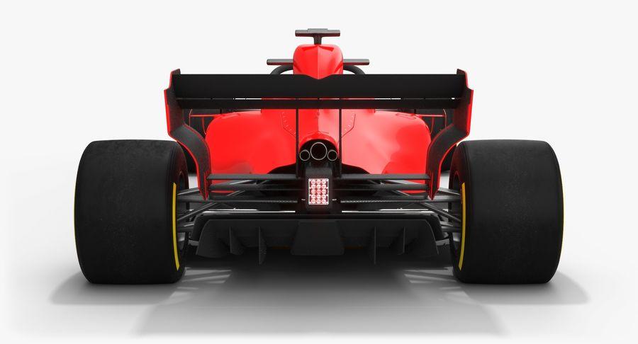 Formula 1 Season 2019  F1 Race Car royalty-free 3d model - Preview no. 10