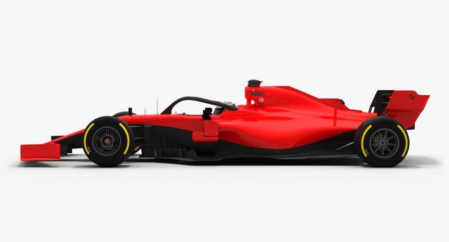 Formula 1 Season 2019  F1 Race Car royalty-free 3d model - Preview no. 7