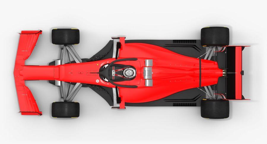 Formula 1 Season 2019  F1 Race Car royalty-free 3d model - Preview no. 8