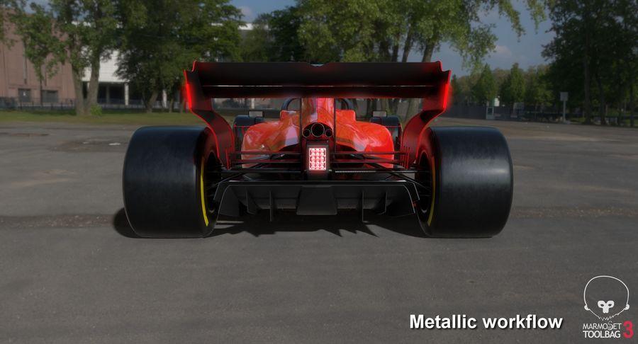 Formula 1 Season 2019  F1 Race Car royalty-free 3d model - Preview no. 28