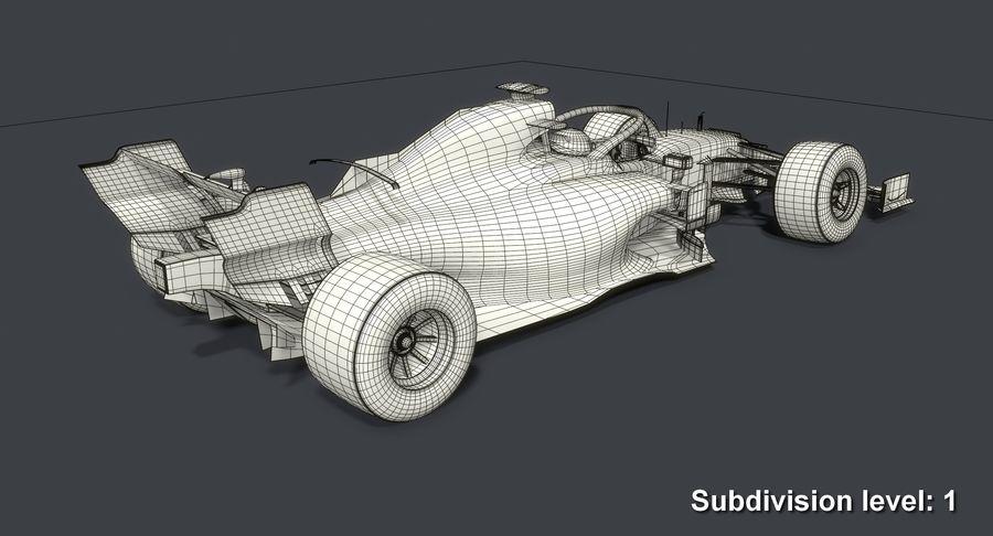 Formula 1 Season 2019  F1 Race Car royalty-free 3d model - Preview no. 17