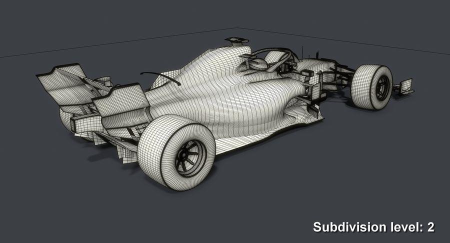 Formula 1 Season 2019  F1 Race Car royalty-free 3d model - Preview no. 18