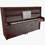 Klavier aus Holz 3d model