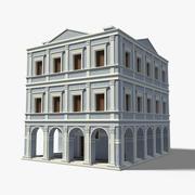 Renaissance Palace Blue 3d model
