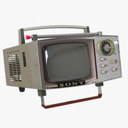 TV SONY MOD.5-303 3d model