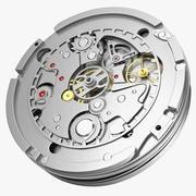 Antique Pocket Watch Movement 3d model