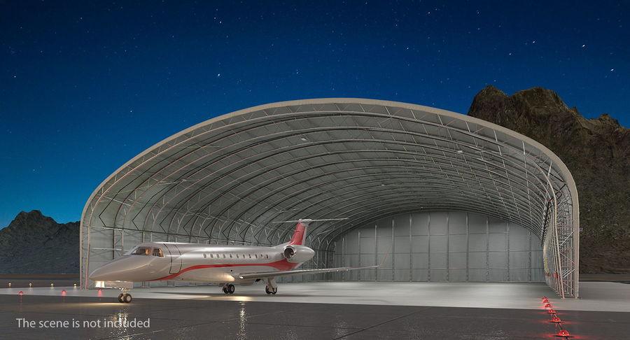 Hangar pour avions royalty-free 3d model - Preview no. 4