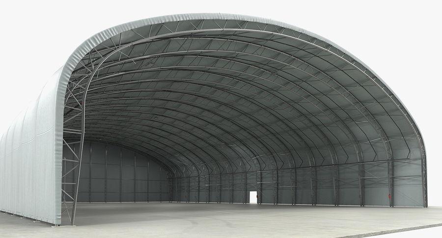 Hangar pour avions royalty-free 3d model - Preview no. 2