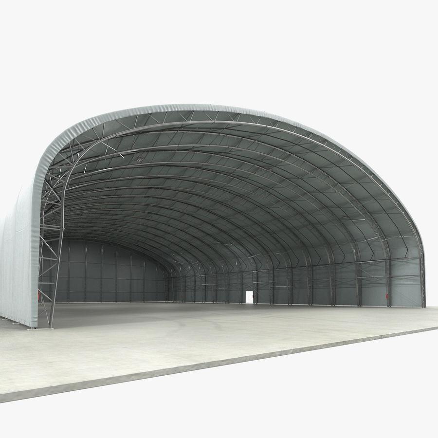 Hangar pour avions royalty-free 3d model - Preview no. 1