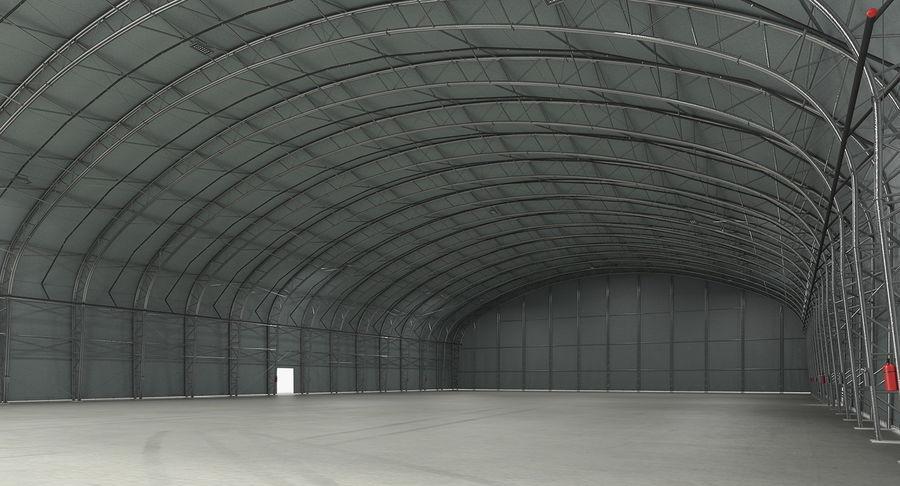 Hangar pour avions royalty-free 3d model - Preview no. 10