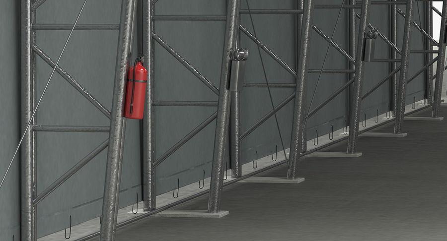 Hangar pour avions royalty-free 3d model - Preview no. 13