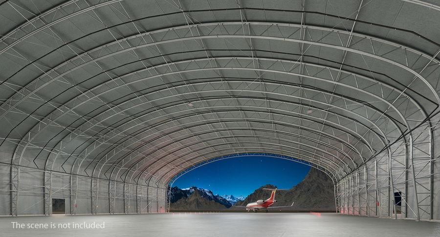 Hangar pour avions royalty-free 3d model - Preview no. 5