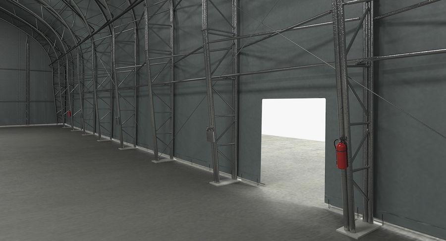 Hangar pour avions royalty-free 3d model - Preview no. 11