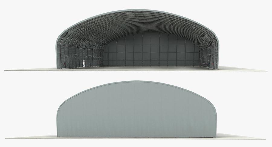 Hangar pour avions royalty-free 3d model - Preview no. 8