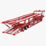 Sun Valley H5308 Car Carrier Rigged 3d model