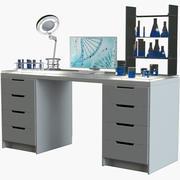 実験室の職場 3d model
