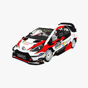 Toyota Yaris WRC Season 2019 3d model