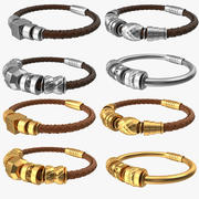 Bracelets Bundle 3d model