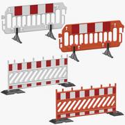 Bau Barrieren 3d model