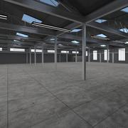 Empty Warehouse 3d model