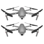 Mavic 2 Pro and Mavic 2 Zoom 3d model