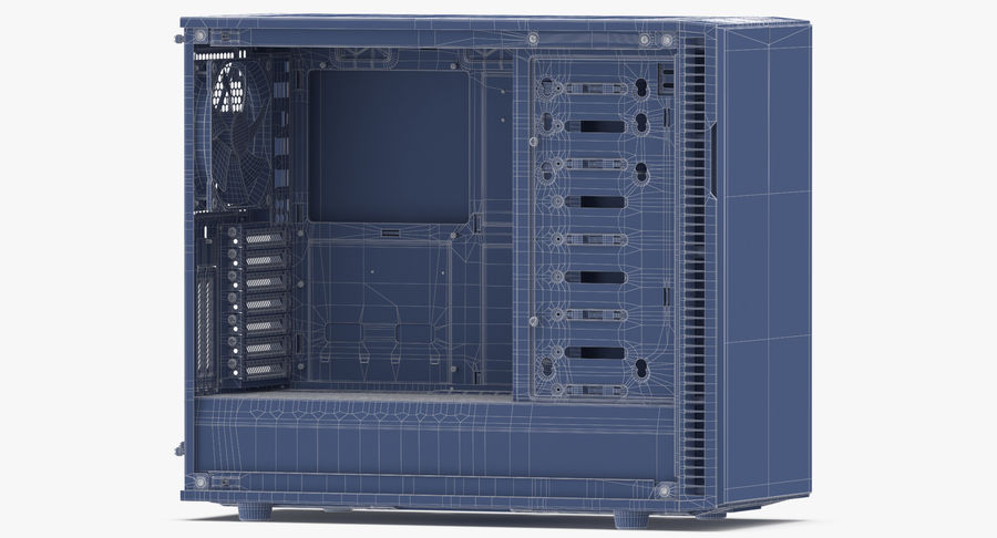 Computer Case royalty-free 3d model - Preview no. 15