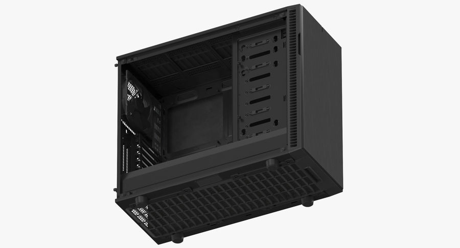 Computer Case royalty-free 3d model - Preview no. 9