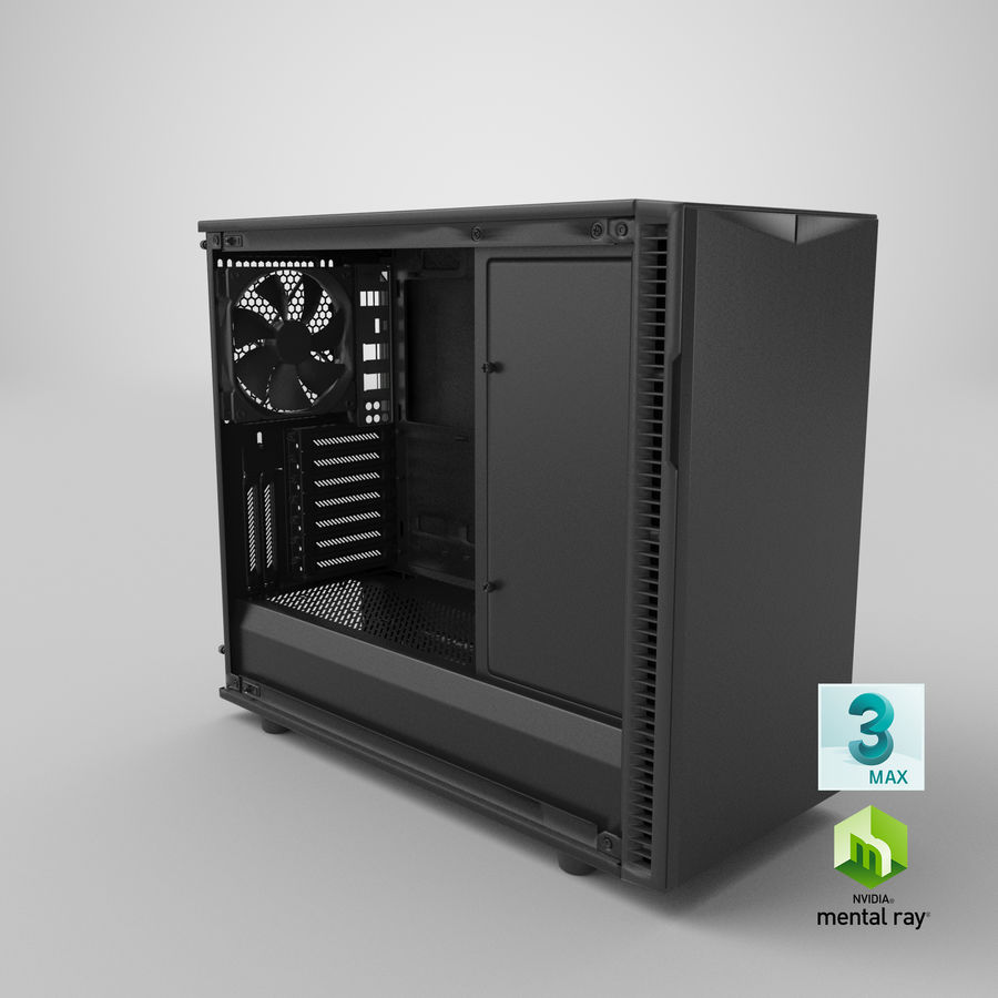 Computer Case royalty-free 3d model - Preview no. 21