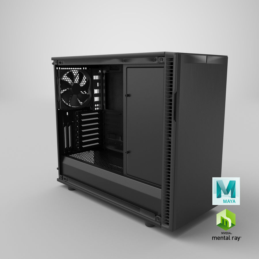 Computer Case royalty-free 3d model - Preview no. 19
