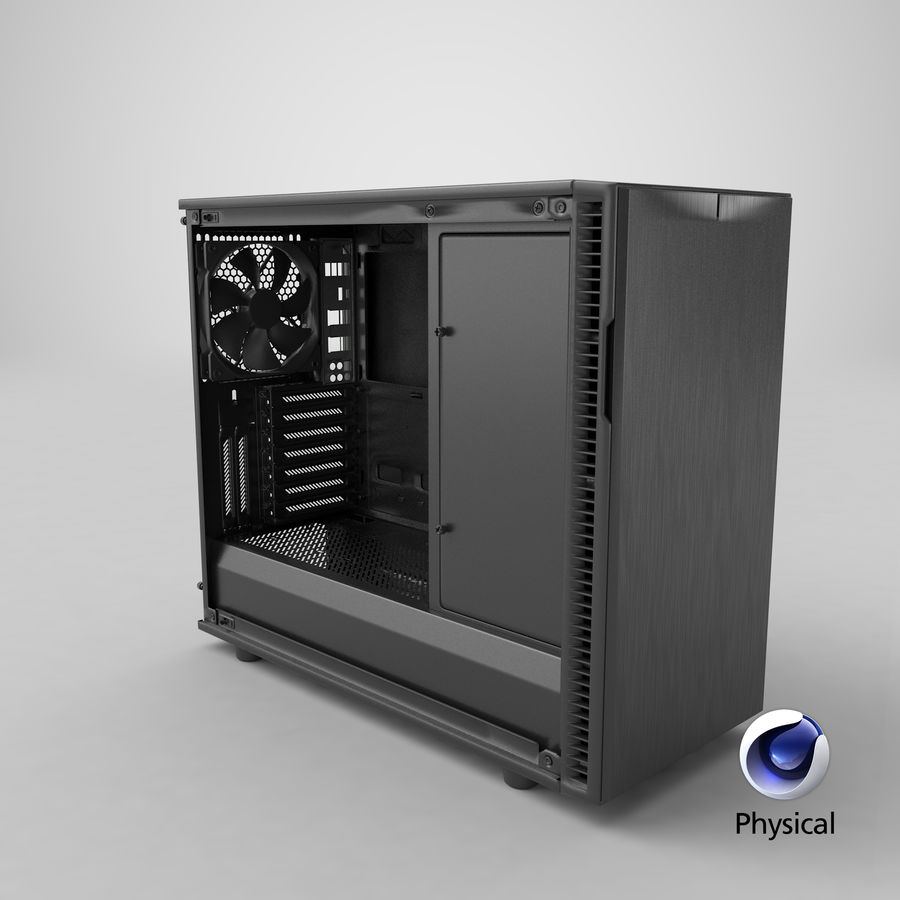 Computer Case royalty-free 3d model - Preview no. 22