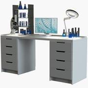 実験室の職場2 3d model
