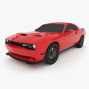 Dodge Challenger SRT Hellcat modelo 3d