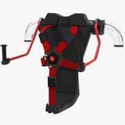喷气背包 3d model