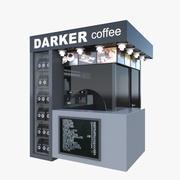 Kafé 3d model