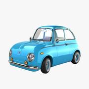老爷车 3d model