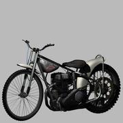 JAWA Speedway Bike 3d model