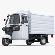 Bajaj Delivery Van 3d model