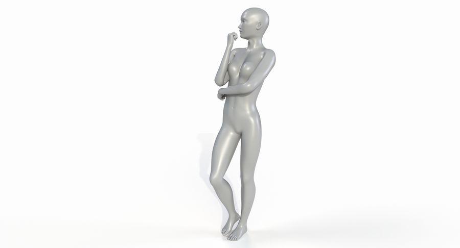 Female Base Mesh royalty-free 3d model - Preview no. 7