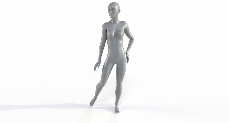 Female Base Mesh royalty-free 3d model - Preview no. 29