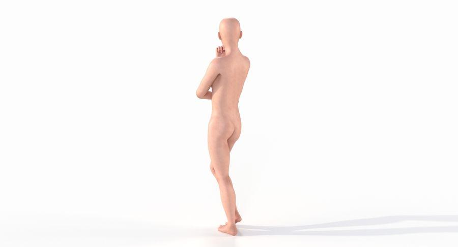Female Base Mesh royalty-free 3d model - Preview no. 12