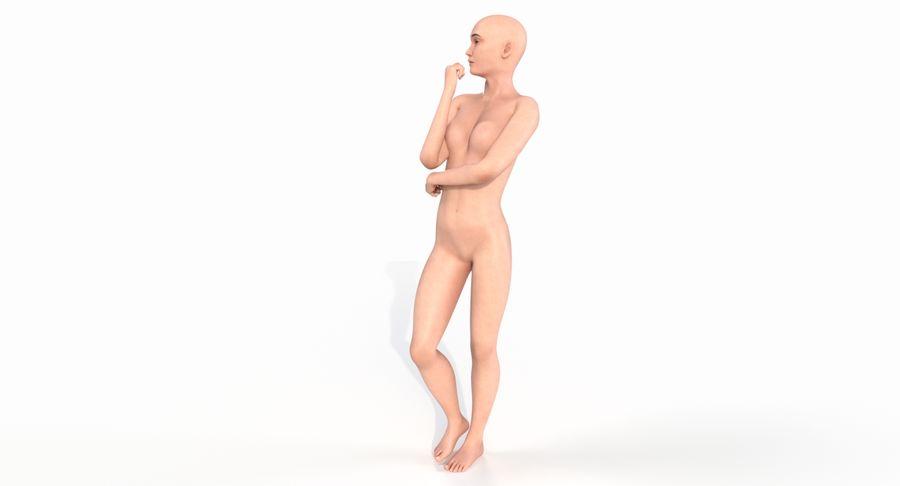 Female Base Mesh royalty-free 3d model - Preview no. 13
