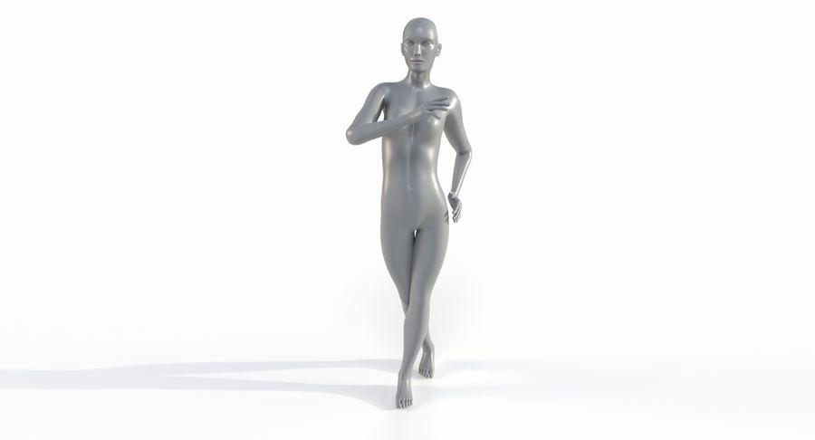 Female Base Mesh royalty-free 3d model - Preview no. 30