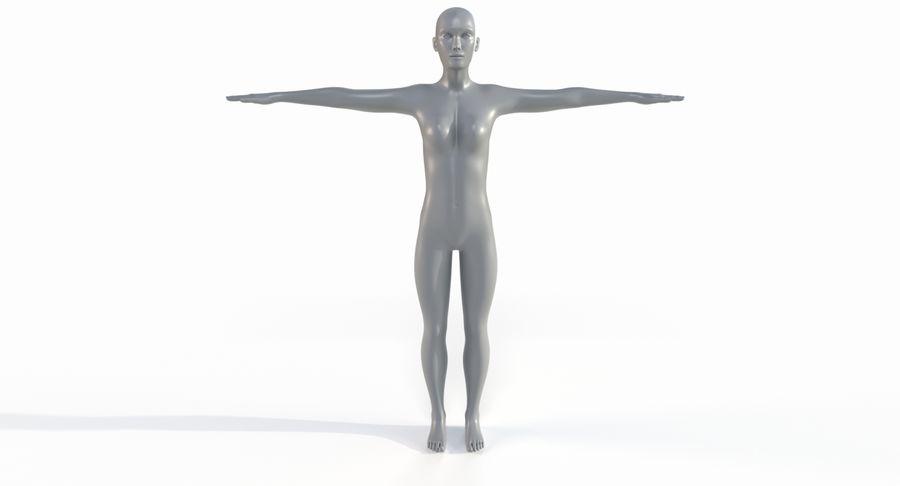 Female Base Mesh royalty-free 3d model - Preview no. 27